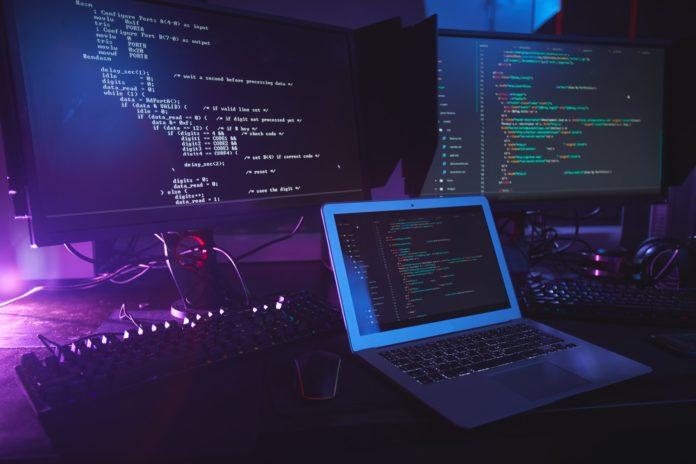 Programming Equipment in Dark